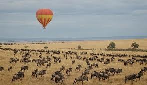 baloon ride masai mara